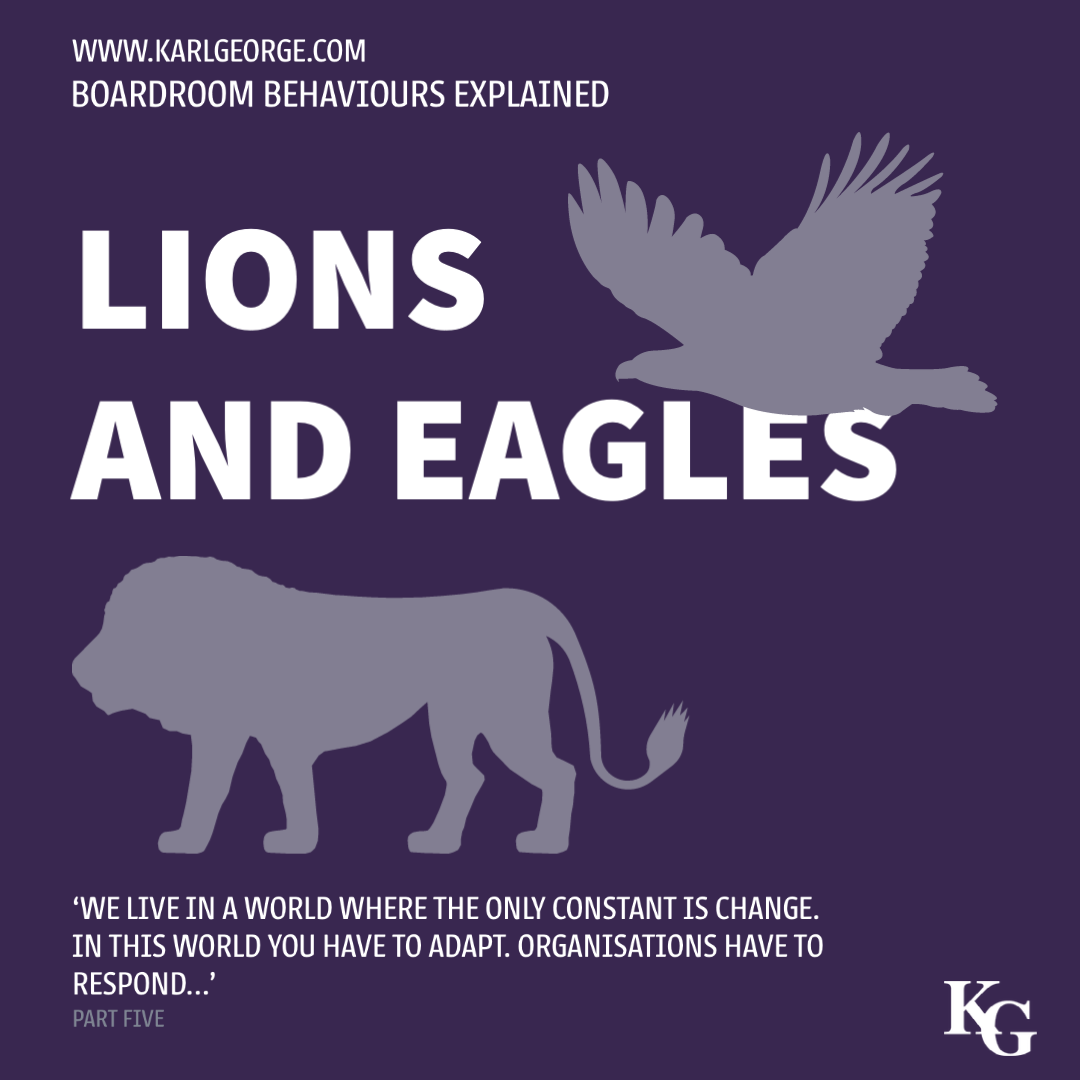 Lions and Eagles